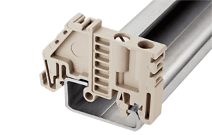 Dinkle 35mm Compact Din Rail End Clamp SS2