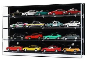 520c5655 Details about Acrylic Model Wall Display Case for 1:43 Scale Model Cars - 4  Shelves