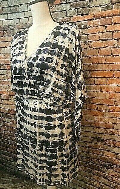 NWT Parker NY Panache Blouse Dress, bluee White, Size S, Retails