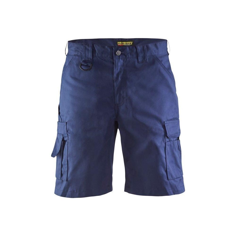 Blakläder 1447 Cargo Work Shorts - Navy bluee