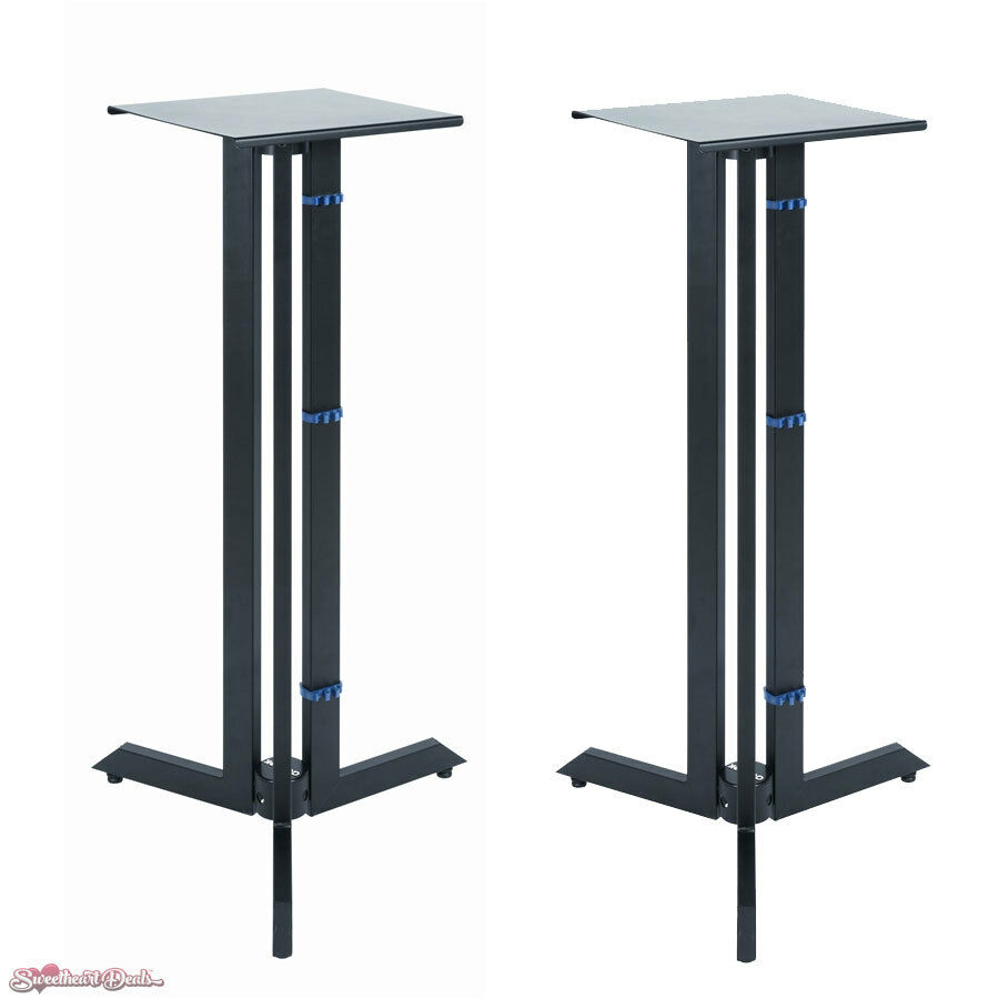 QuikLok BS-536 Triple Column Near Field Monitor Stands 36  Fixed Height Pair