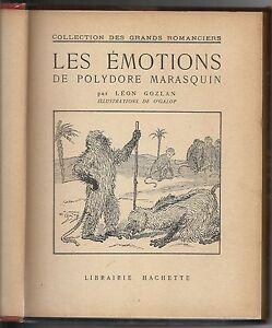 Leon-GOZLAN-EMOTIONS-POLYDORE-MARASCIN-Hommes-singes-Fantastique-Humour