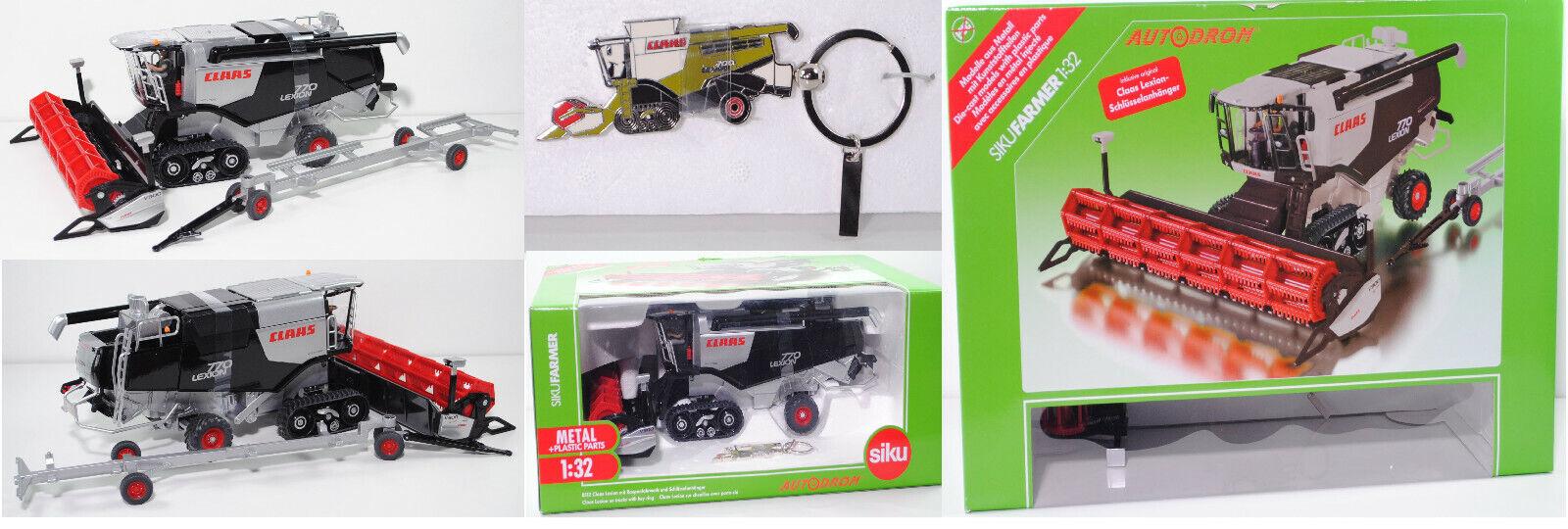 SIKU FARMER 8512 CLAAS LEXION 770 TT Moissonneuses-batteuses, 1 32, spécial modèle AUTODROM ®