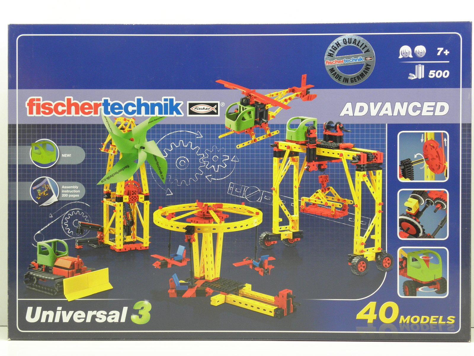 Fischertechnik 511931 Advanced Baukasten Universal 3