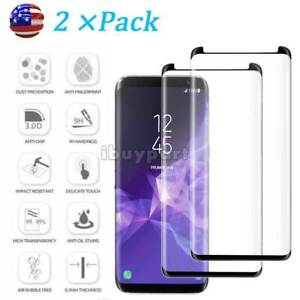 Tempered-Glass-for-Samsung-Galaxy-S9-S8-Plus-Note-8-9-S8-Screen-Protector-2-pack
