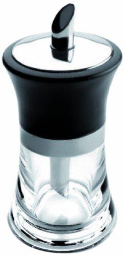 Noir//Transparent//Argent 7 x... Ibili SAUPOUDREUSE Prisma acier inoxydable