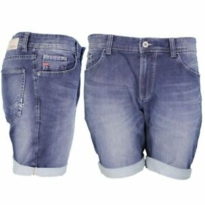 a5ed0385a97b Das Bild wird geladen Camel-active-Herren-Jeans-Shorts-Madison-Denim-blau-