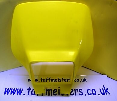 Husaberg 90/'s Headlamp Mask Fluoroscent Yellow 97//98 Models new genuine part