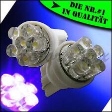 6 LED Standlicht,Schwarzlicht,UV,Lila,Purple,T10,w5w,Auto,Motorrad,Quad,Roller