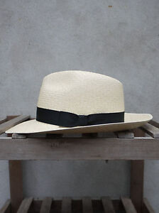 Olney Wide Brim Panama Hat