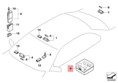 Genuine BMW E46 Convertible Coupe Spare Bulbs Box OEM 63217164673