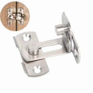 "Stiainless Steel 2 Press Open 3/"" Spring Slide Bolt Door Latch Lock"
