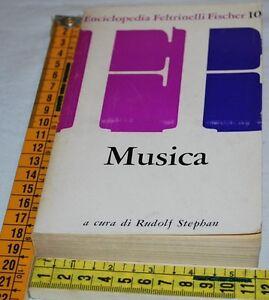 STEPHAN-Rudolf-MUSICA-Fischer-10-Feltrinelli-libri-usati