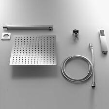 Set Doccia con Soffione rettangolare 30x20  + Braccio doccia + Kit Duplex by ARE