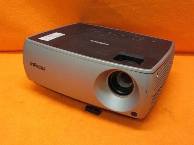 InFocus IN2102EP Multimedia DLP Projector 2,500 Lumens 2,000:1 w/ Working Lamp