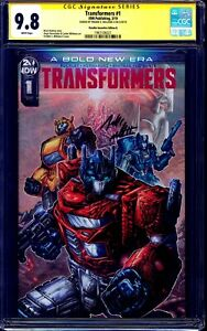 Transformers-1-INCENTIVE-1-25-RETAIL-VARIANT-CGC-SS-9-8-signed-Freddie-Williams