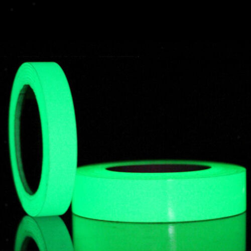 Luminous Glow In The   Tape Sticker Self Adhesive Green-300cm//Roll