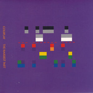"""COLDPLAY - The Hardest Part 7"""" 45"""