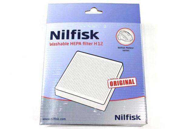 Genuine H12 PART 12404730 Nilfisk Meteor Vacuum Cleaner Hepa Filter