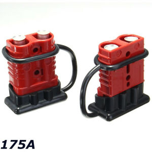 s l300 2x 175a battery quick connect disconnect winch plug connector 1 2