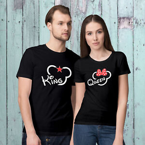 fc8478cee5 King and Queen T-Shirts -Valentine's Day Matching Funny T-Shirts for ...