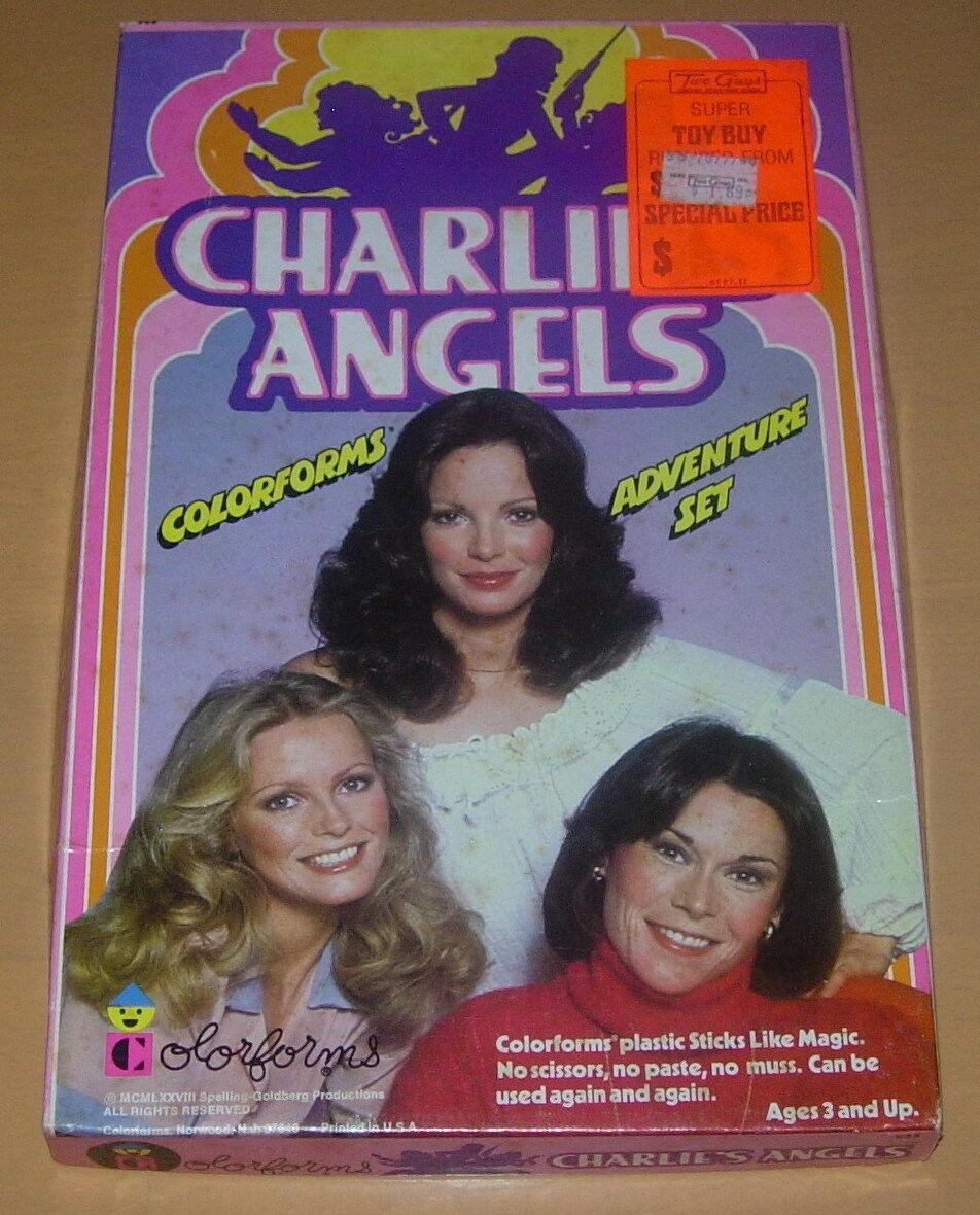 COLORFORMS  CHARLIE'S ANGELS  1978  ADVENTURE SET  NO INSTRUCTIONS