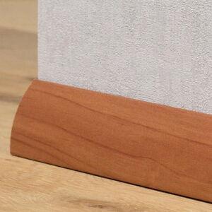 Details zu Sockelleisten / Laminat / Parkett - 40mm Softline - Kirsche  Gebeizt
