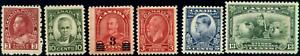Canada-184-194-mint-F-VF-VF-1931-1932-King-George-V-Selection-CV-59-50