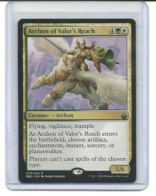 Archon of Valor/'s Reach Magic the Gathering Mint BATTLEBOND MTG