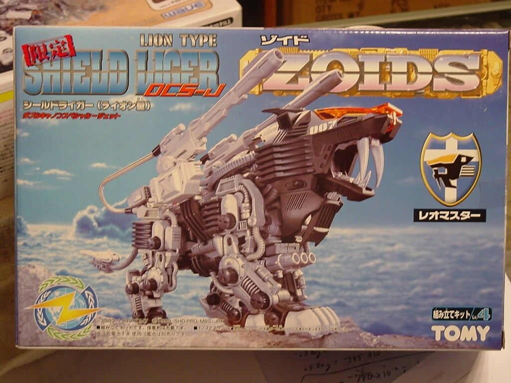 Zoids Limited Shield Liger DCS-J Mint in Box w/CP01