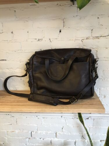 Filson Original Leather Briefcase