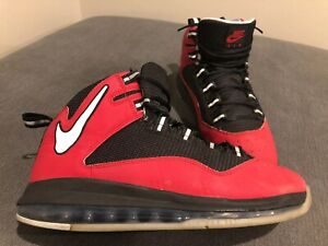 sports shoes 88d21 6bd00 Image is loading Nike-Air-Max-Darwin-360-Red-Black-Gray-