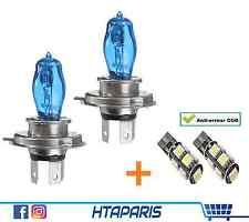 Lot Ampoule Blanche Effet Xenon H4 6000K 55w 12V (CE) / LED T10 CANBUS ODB 5050