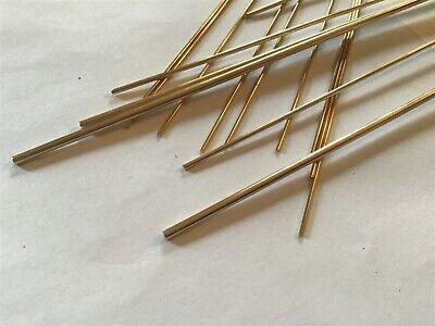 Modello Ingegneria Ottone Rotonda Barra 1mm 1.5mm 2mm 2.5mm 3mm 2.38mm 1.58mm