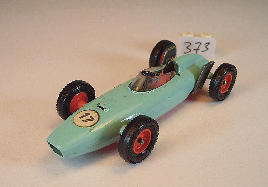 Majorette 1 65 Nr. 1 BRM Rennwagen mintgreen Nummer 17
