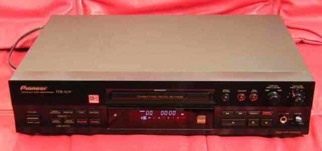 Pioneer PDR-509 m. Profi-Umbau High-End-CD-Recorder mit 1 Jahr Garantie