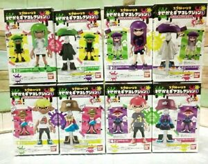 Nintendo-Splatoon-2-Kisekae-Gear-Collection-3-8-Pack-Complete-Box-Set-Figure
