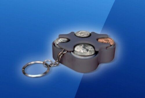 US coin holder coin organizer us coins coins Key Chain Coin Holder