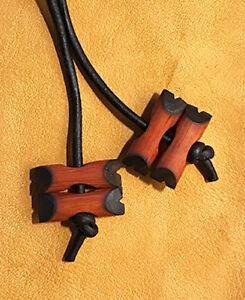 BSA Wood Badge Exotic Paduak 3 Wood Beads