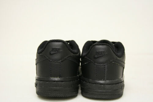 4,4.5,5,5.5 AVAILABLE TD 314194-006 BLACK//BLACK BABY SIZE NIKE FORCE 1