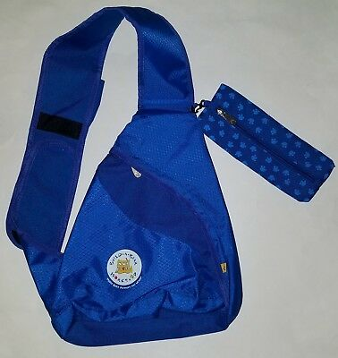 39fdb1688b Build A Bear Child s Size Blue Swing Backpack With Pencil Case BABW Bag Boy  Girl
