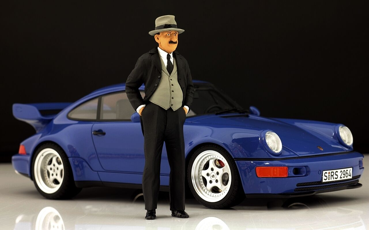 Ferdinand Porsche Figur für 1 18 18 18 AutoArt 356 VERY RARE  f68e19