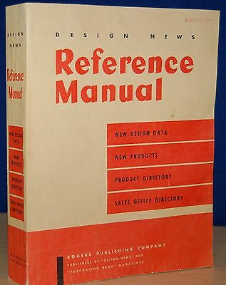 1953 DESIGN NEWS Reference Manual Computers Electronics Technical Engineering