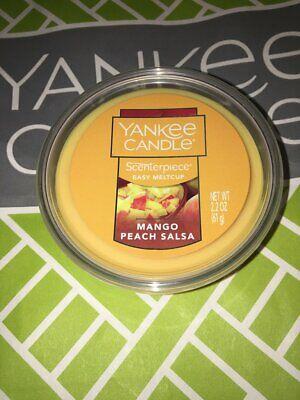 Yankee Candle Mango Peach Salsa Scenterpiece 3 Melt Cups