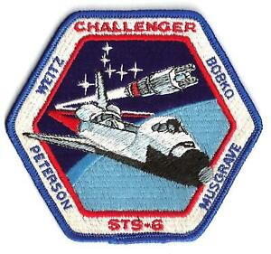 space shuttle challenger mission patch - photo #1
