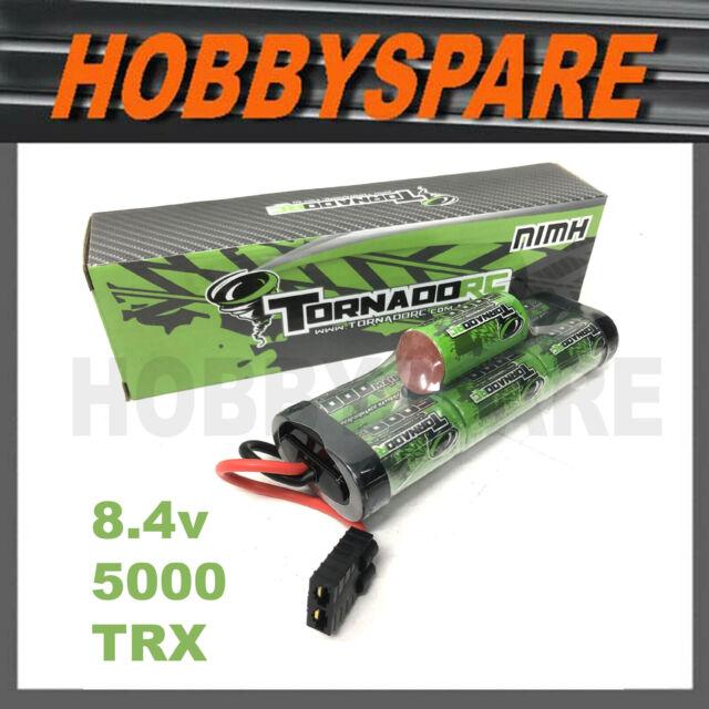 TORNADO RC 8.4V 5000Mah NIMH HUMP BATTERY TRX TRAXXAS PLUG STAMPEDE RUSTLER