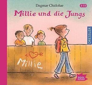 DAGMAR-CHIDOLUE-MILLIE-UND-DIE-JUNGS-2-CD-NEU