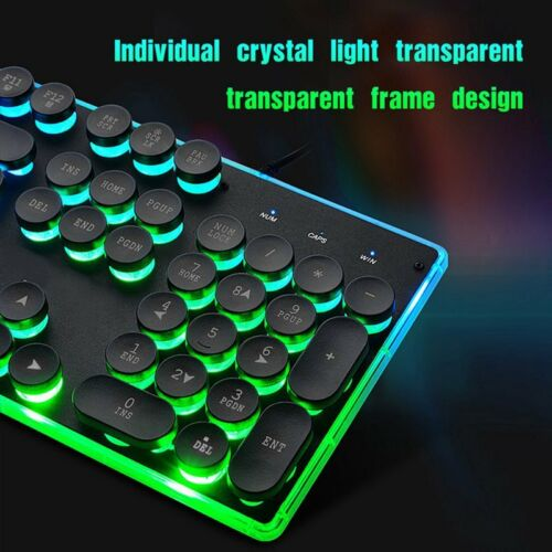 Mouse Adapter for PS4 PS3 Xbox One and Xbox 360 Gaming Rainbow LED Keyboard