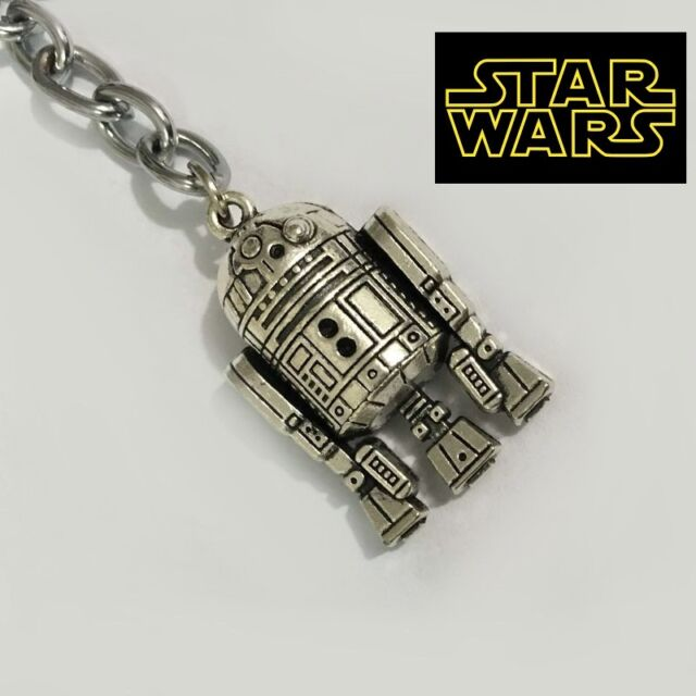 star wars r2d2 full metal key chain keychain force collectible