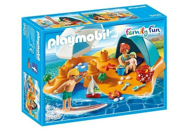 Playmobil Family Fun Family Beach Day 9425 New Authentic